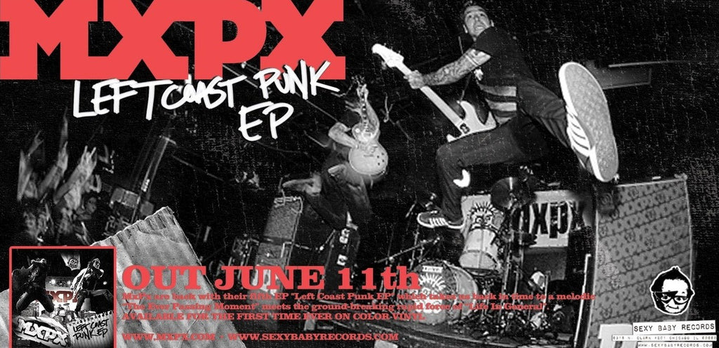 "MxPx ""LCP EP Promo"" Poster"