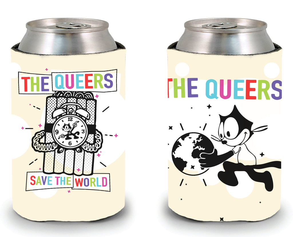 "The Queers ""Save the World"" Koozie"