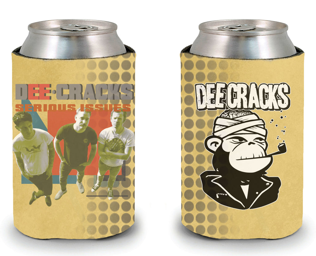 "DeeCRACKS ""Serious Issues"" Koozie"