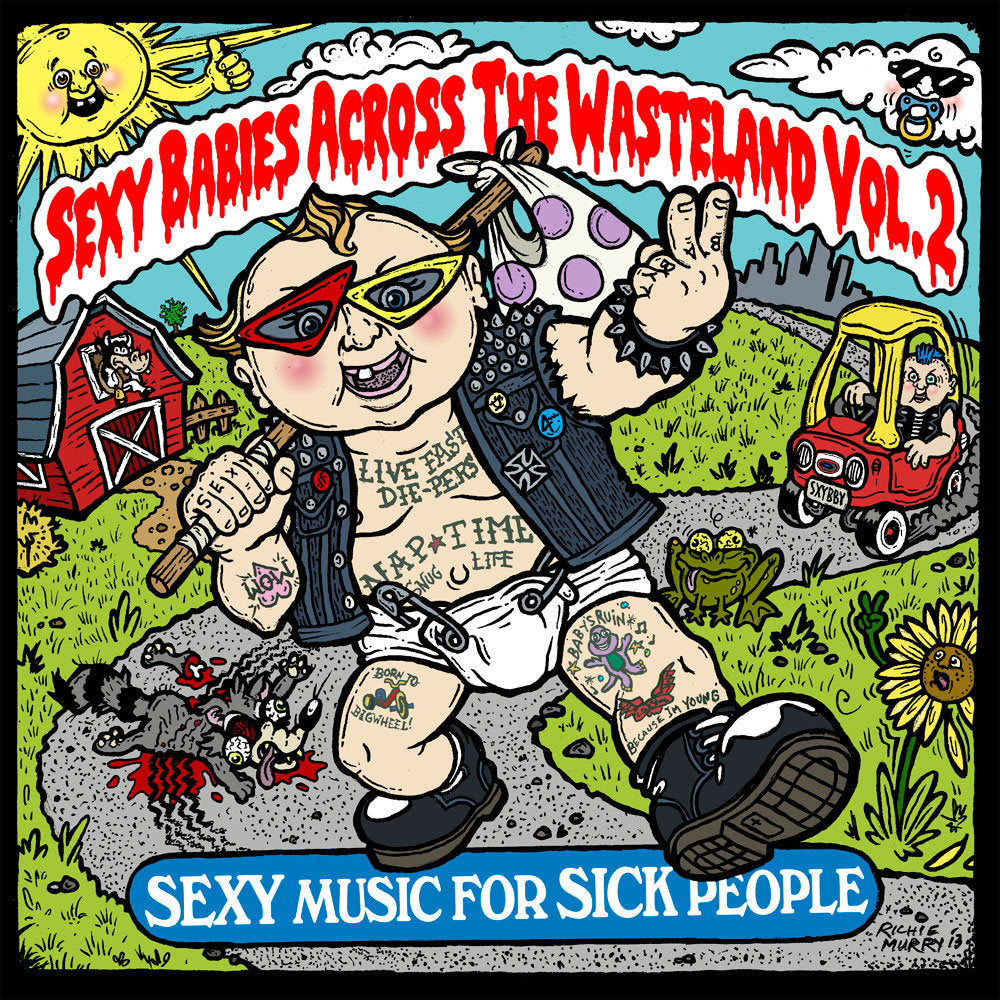 "Various Artists ""Sexy Babies Across The Wasteland Vol. 2"""