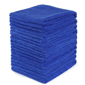 100 Pcs Car No-Scratch Polishing Microfiber Cleaning Cloth Towel