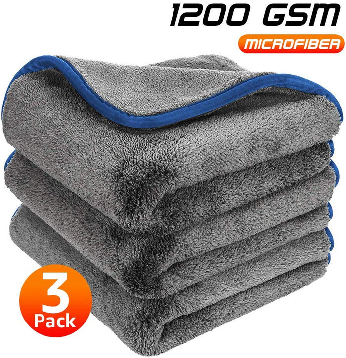 1200GSM Thick Car Wash Microfiber