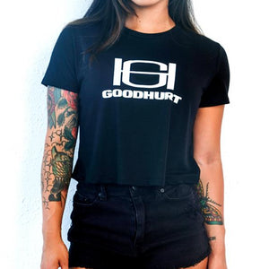 GOODHURT - Logo Crop Top