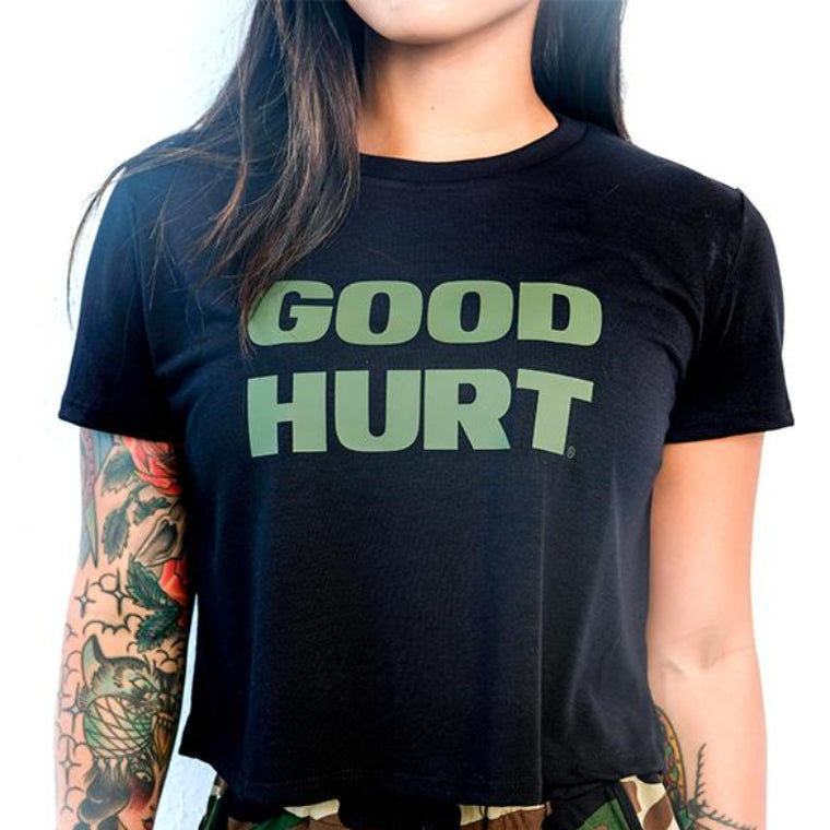 GOODHURT - Crop Top Tee
