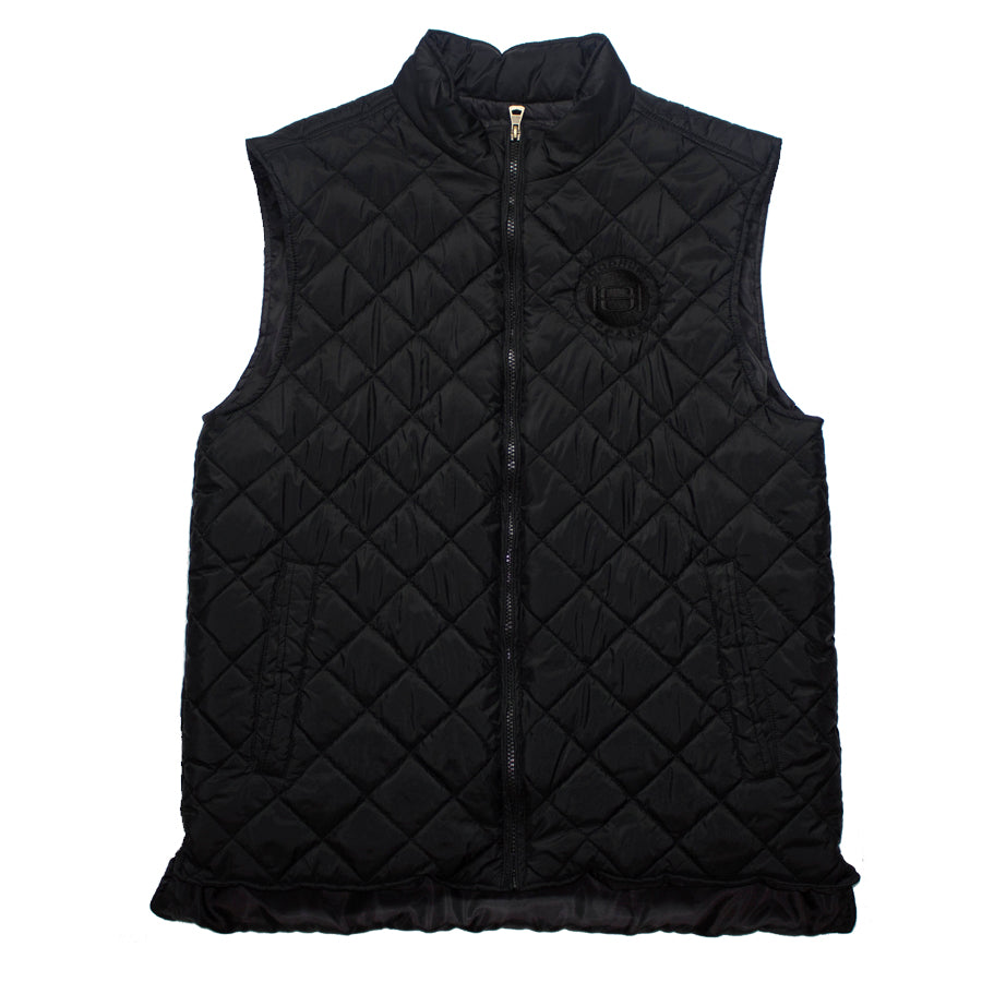 Goodhurt Quilted Vest Black