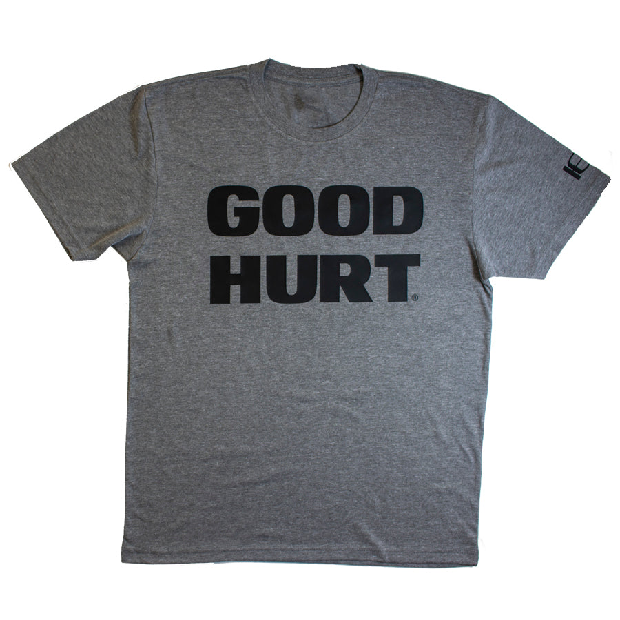 GOODHURT - Grey/Black Tri-Blend T-Shirt