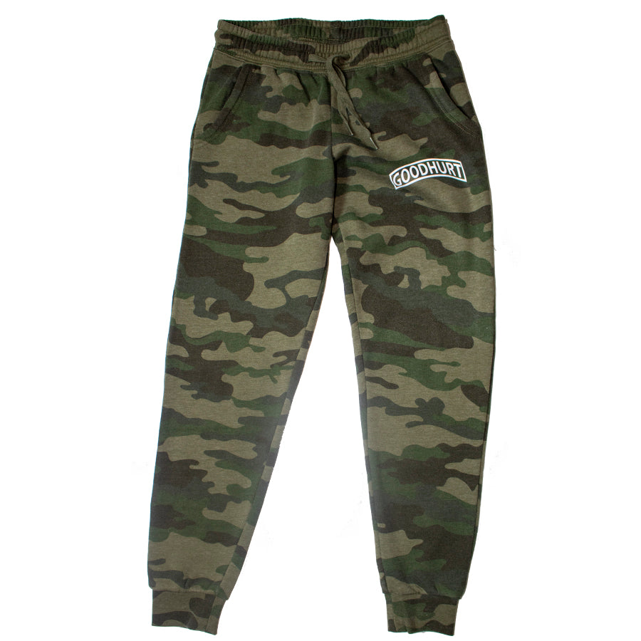GOODHURT - Women's Camouflage Jogger Front