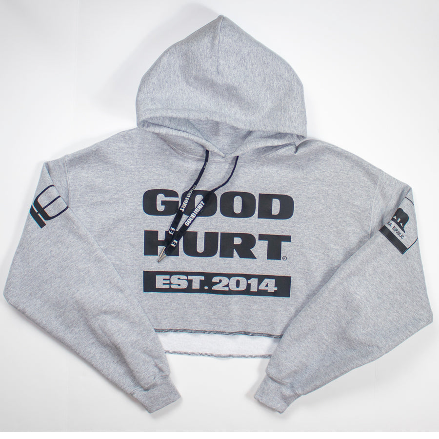 GOODHURT Est. 2014 Crop Top Sweater