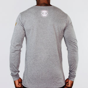 GOODHURT - Because Pain Is Necessary - Long Sleeve Crew Neck Tee