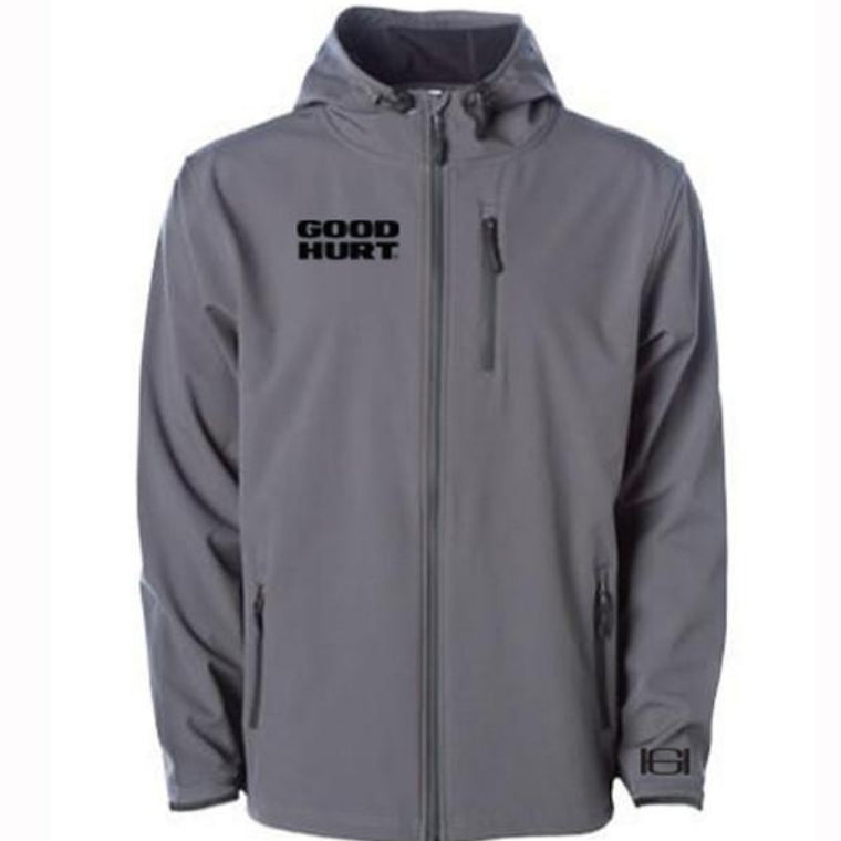 GOODHURT- Soft Shell Tech Jacket - Graphite
