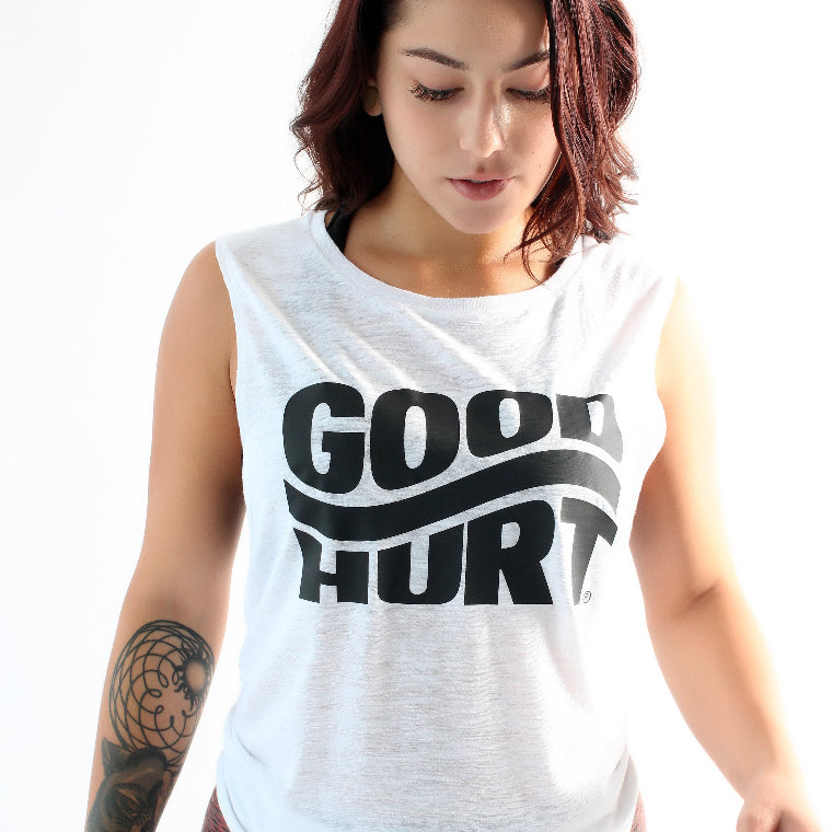 GOODHURT - Wavey Muscle Tank