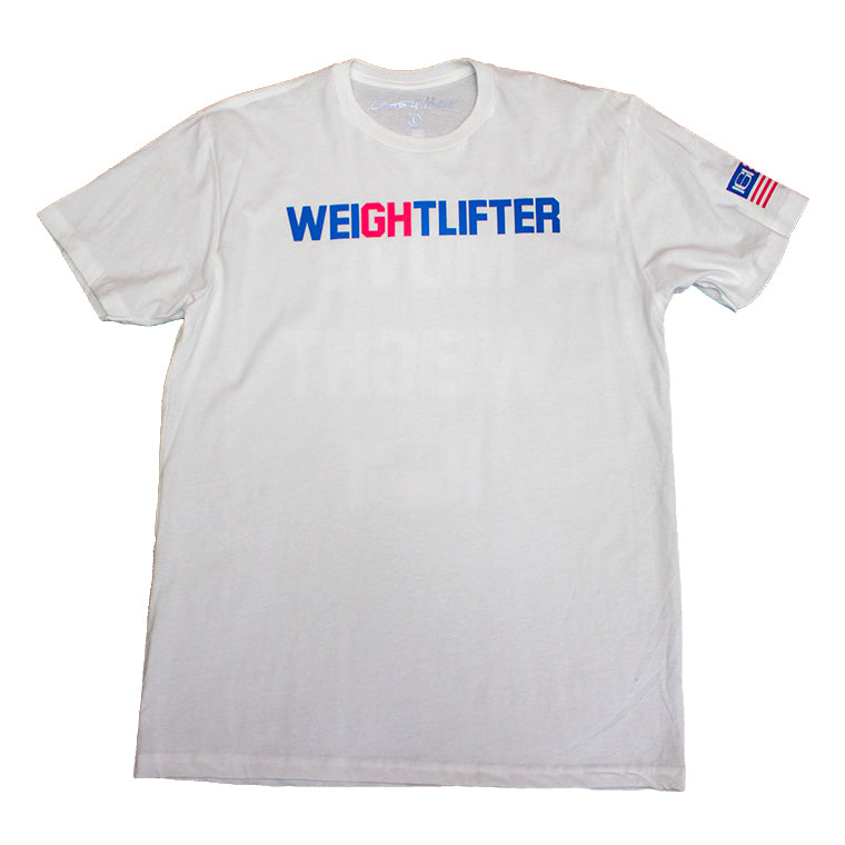 GOODHURT Weight Lifter Crew Neck Tee Front