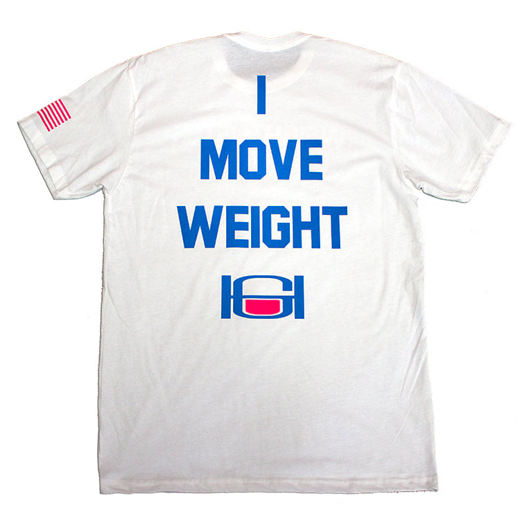 GOODHURT Weight Lifter Crew Neck Tee Back