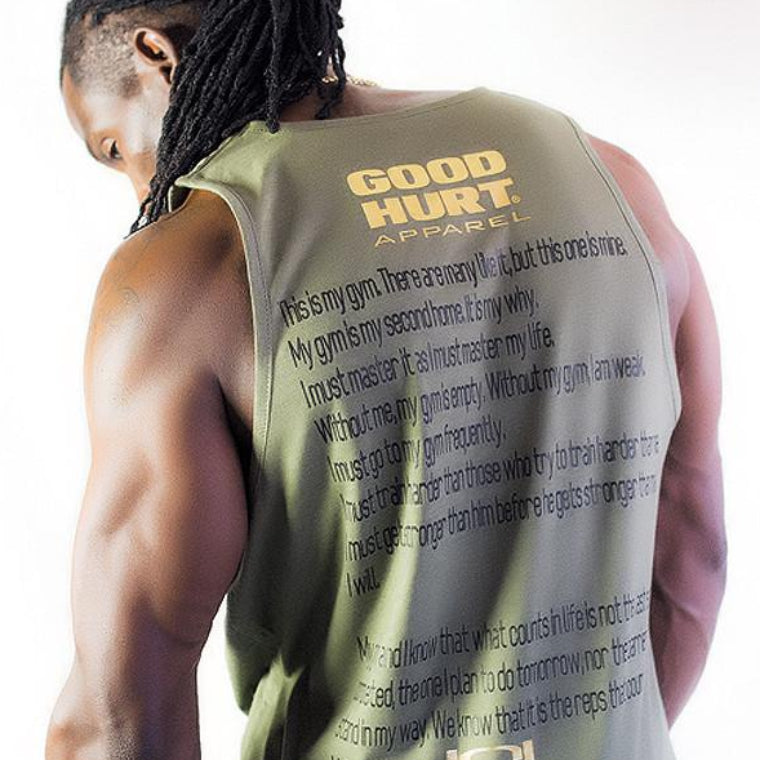 GOODHURT - Creed Sleeveless Tank