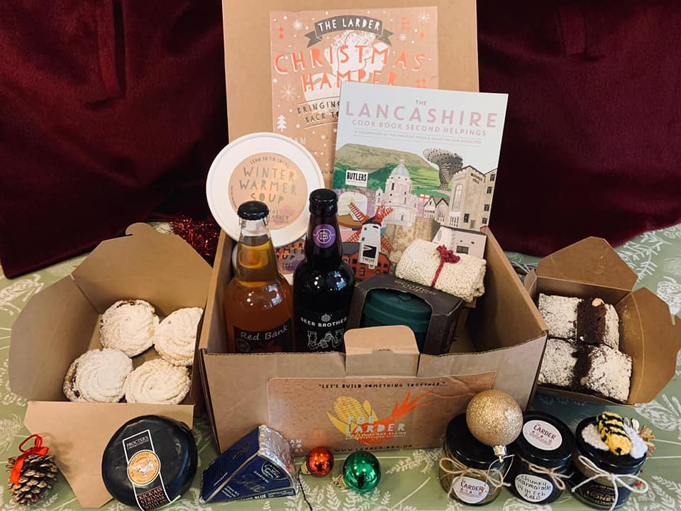 Luxury Ethical Large Lancashire Christmas Hamper