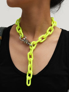 Highlight Link - Chunky Chain Necklace