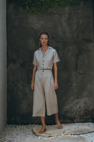 Fae Linen Shirt and Pants
