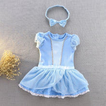 Load image into Gallery viewer, Baby Newborn Infant Cinderella Princess Costume Dress