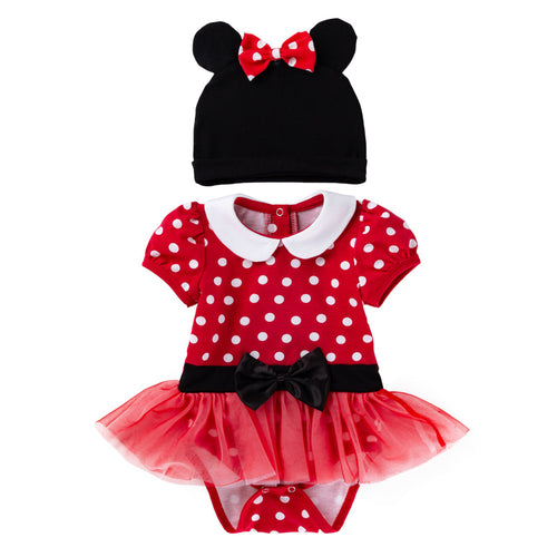 Toddler Baby Girls Mickey Mouse Romper