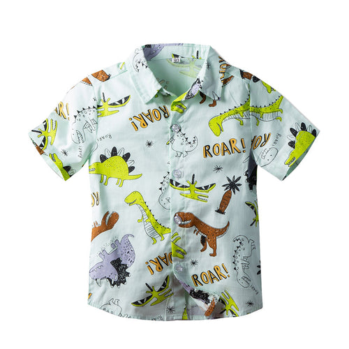 Baby and Toddler Boys Dinosaur ROAR Shirt