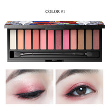 Load image into Gallery viewer, Eyeshadow Palette 12 Color
