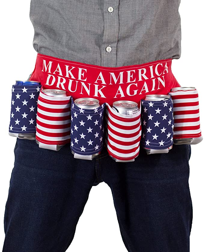 USA Holder Beer Belt