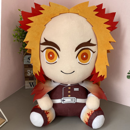 Demon Slayer Kimetsu no Yaiba Chibi Plush - Kyojuro Rengoku