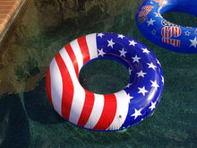 Load image into Gallery viewer, Giant American Flag Pool Float