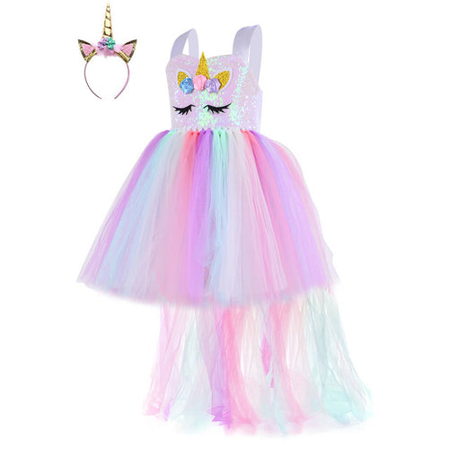 Unicorn Party Tutu Dress for Girls