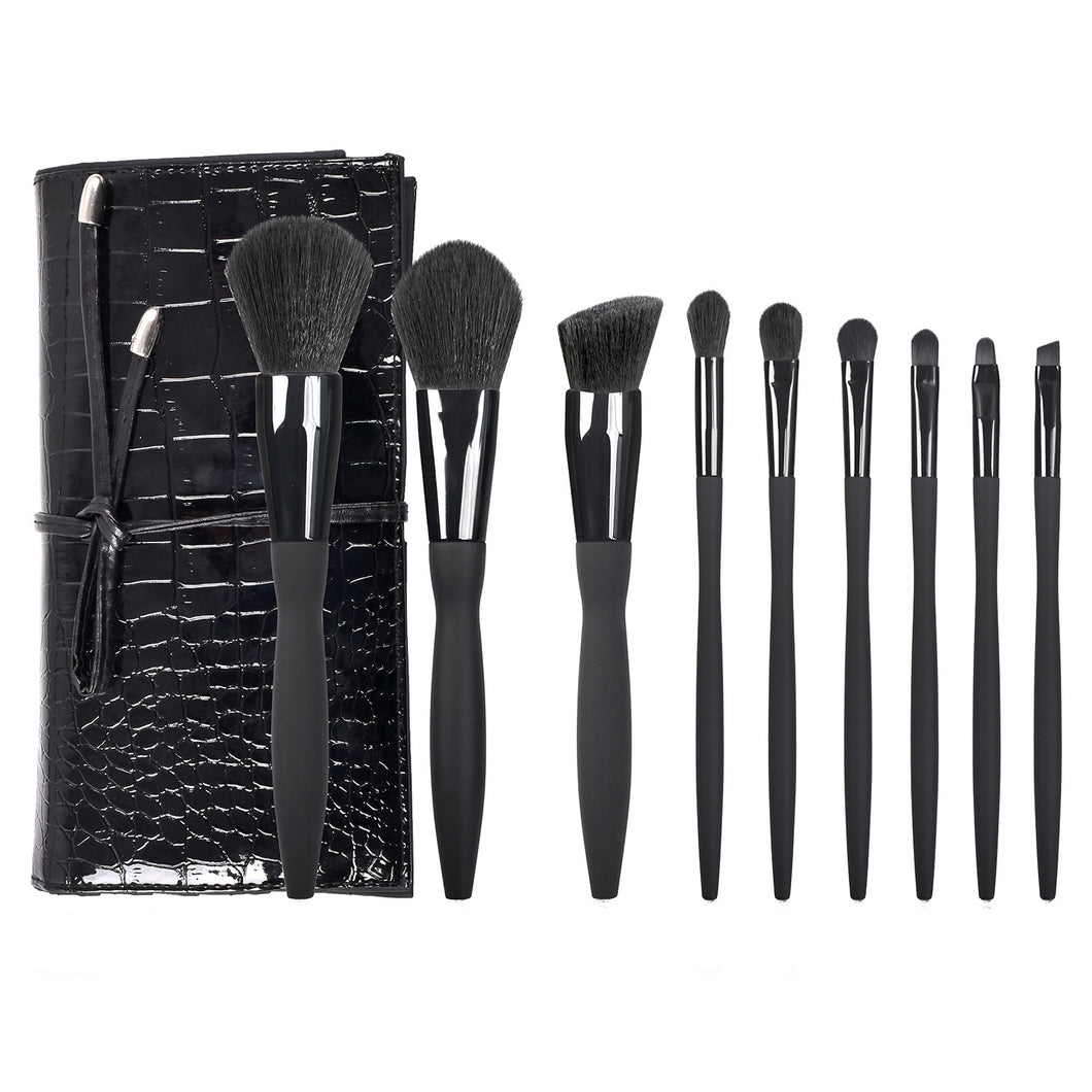 10-PIECE MAKEUP BRUSH SET