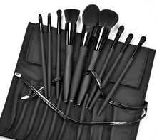 Load image into Gallery viewer, 10pcs black makeup brush