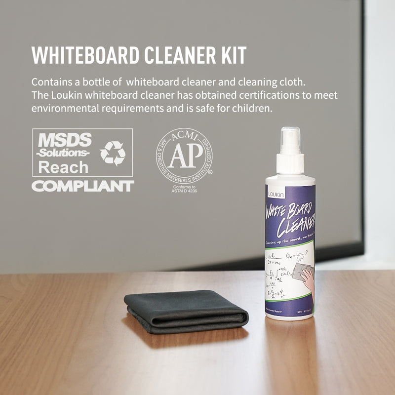 Whiteboard Cleaner - 8.5oz (250ml)+cloth