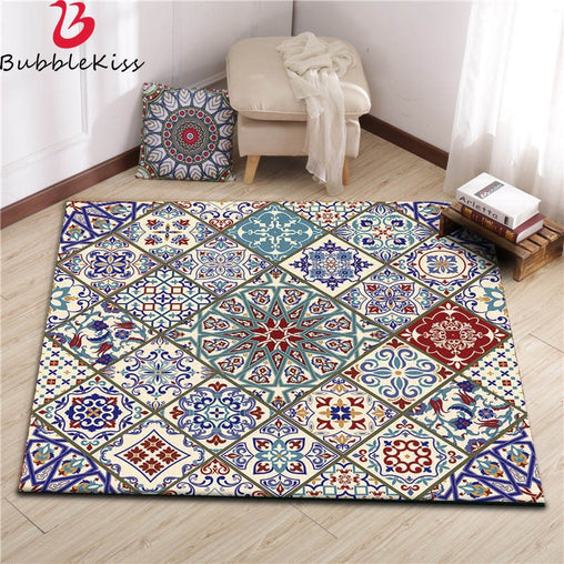 Vintage Nordic Style Soft Non-Slip Large Area Rug