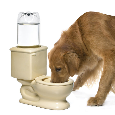 Pet Toilet Water Bowl