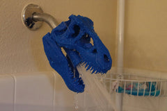SHOWERSAURUS REX™ Shower Head (Blue)
