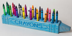 "Cray DisPlay™ ""CRAYON"" Holder in Blue"