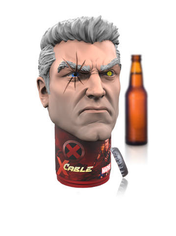 Deadpool's CABLE Limited edition Marvel design Talking Bottle Opener
