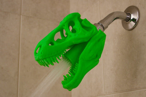 SHOWERSAURUS REX™ Shower Head (Green)