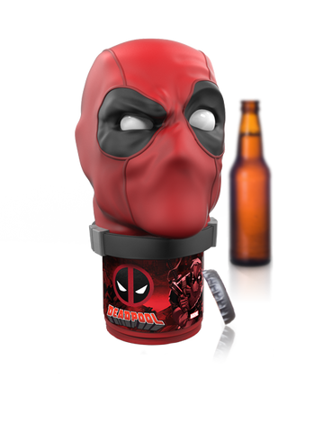 Deadpool Limited Edition Marvel Design Talking Bottle Opener