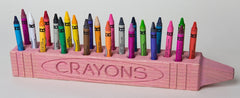 "Cray DisPlay™ ""CRAYON"" Holder in Pink"