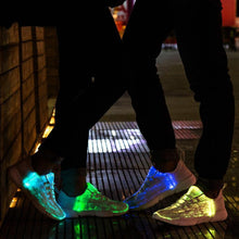 "Load image into Gallery viewer, ""LUMINOUS"" FIBER OPTIC SHOES"
