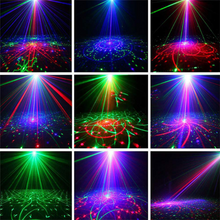 Load image into Gallery viewer, 60 Patterns Disco LED Laser Projector Party Stage Light