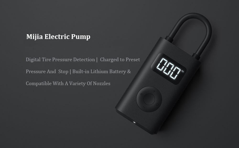 Portable Digital Pump, Powerful Electric Air Compressor.