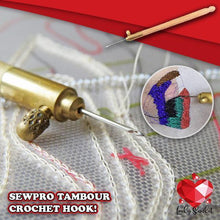 Load image into Gallery viewer, SewPro Tambour Crochet Hook