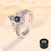 "Load image into Gallery viewer, 100 Languages ""I LOVE YOU"" Ring,Necklace"