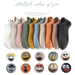 Hot Sale - Embroidered Cartoon Women Socks(50% OFF)
