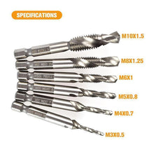 Load image into Gallery viewer, 50% OFF - Composite Tap Drill Bits Set
