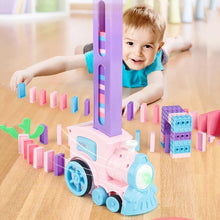 Load image into Gallery viewer, Automatic Domino Laying Train Toy