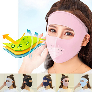 (Last Day Promotion 60% OFF!)--Ice Silk Full Face Mask