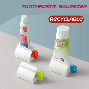Magic Rolling Tube Toothpaste Squeezer - Every Family Need This🔥🔥🔥